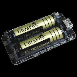 Batteri modul, Dobbelt...