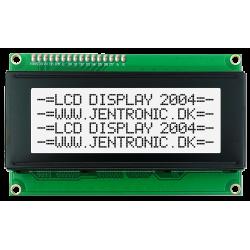 LCD display 2004 I2C, Hvid