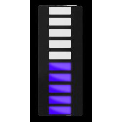 Lysdiodebar, Blå
