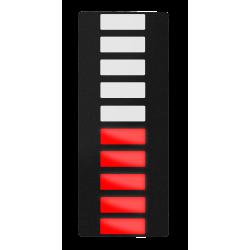 Lysdiodebar, Rød